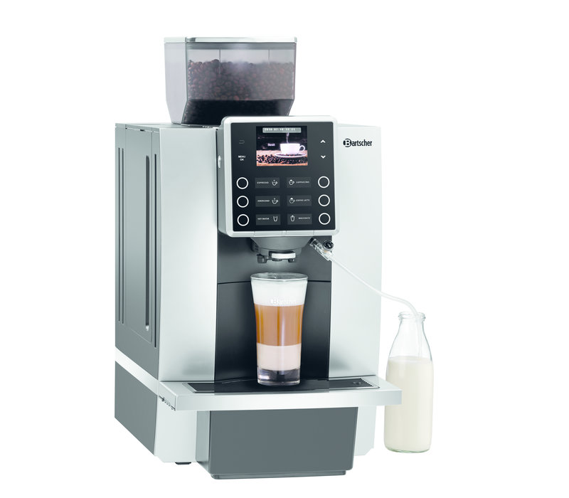 Bartscher Fully automatic coffee maker | With bean grinder | 40 Cups / Hour | 305x330x (H) 580mm