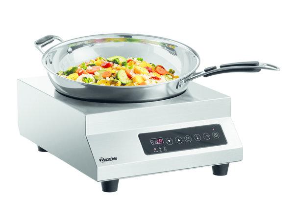 Bartscher Induction wok IW 35 PRO-2   10 Power Levels   3.5 kW   355x440x (H) 165mm
