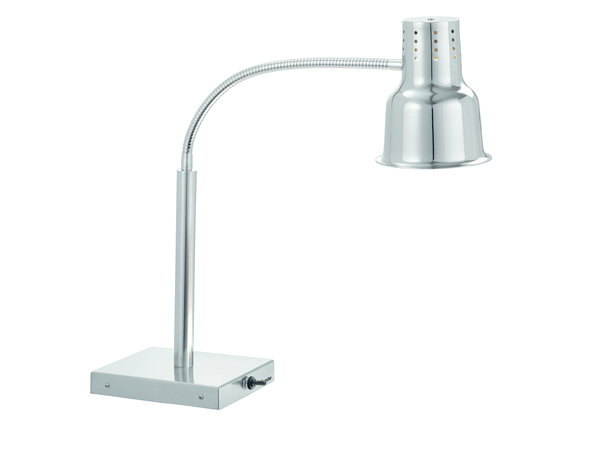 Bartscher Flexible Heat Lamp | Table model | 0.25 kW | 200x750x (H) 700mm