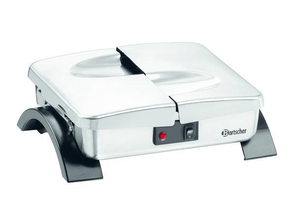 Bartscher Bordenverwarmer Tafelmodel | Voor 12 Borden | 0,3 kW | 320x250x(H)105mm