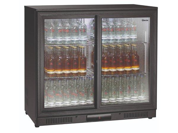 Bartscher Barkoelkast | 176 Liter | 2 Glazen Deuren | 900x530x(H)850mm