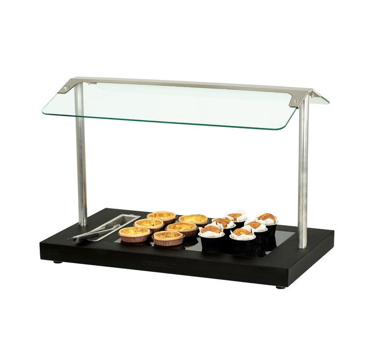 Casselin Buffet Verwarmingsplaat | 450 W | 850x505x(H)600mm