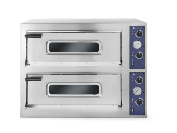 Hendi Pizza Oven Double BASIC 44   9400W   975x924x (H) 745mm