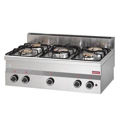 Modular Stove Modular 600 | 6 burner - 17,4 kW | propane | 900x600x (H) 280mm