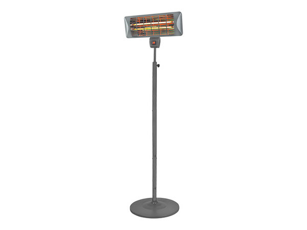 Emga Patio heater With Stand | Quartz Lamp | 1000 / 2000W