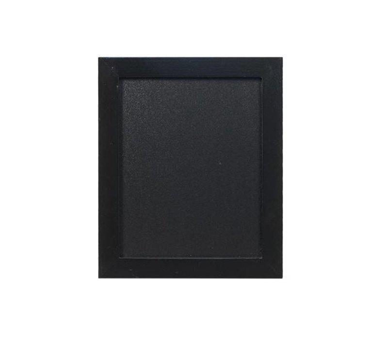 Securit OUTLET Wand Krijtbord Woody - Zwart - Kies uit 3 Maten