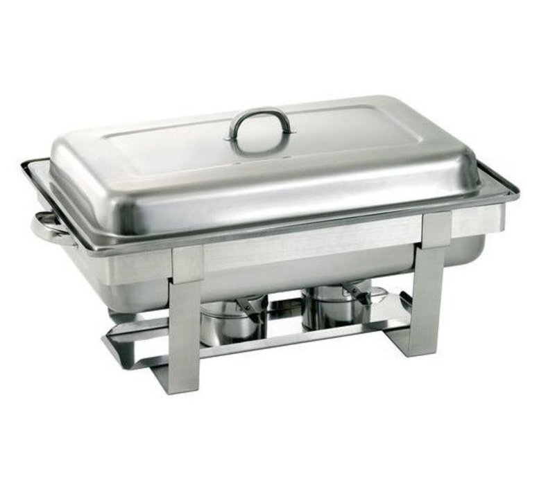 Bartscher OUTLET Chafing Dish | Chroomnikkelstaal | 1/1 GN  | 610x350x(H)320mm