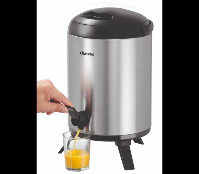 Bartscher Heet Water Dispenser | Plus Tapkraan | Ø 226mm | 9 liter