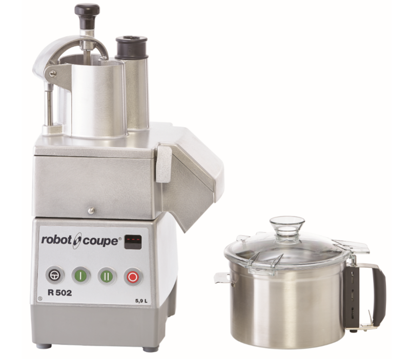 Robot Coupe Combi Cutter & Groentesnijder| Robot Coupe | R 502 | 900W |  5,9 Liter | 750-1500 TPM