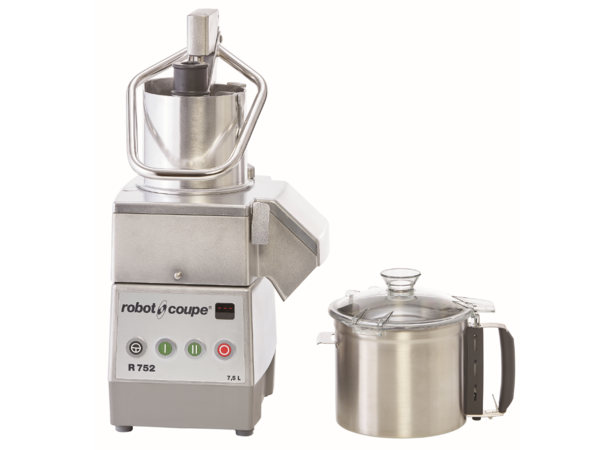 Robot Coupe Combi Cutter & Groentesnijder| Robot Coupe | R 752 | 1800W | 7,5 Liter | 750-1500 TPM