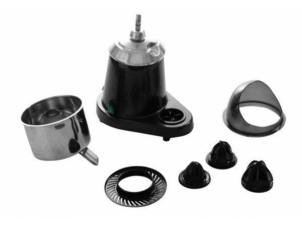 Hendi OUTLET Citruspers Electrisch - Met Anti-spatkap - RVS - 230V / 180W - 300x200x(H)350mm