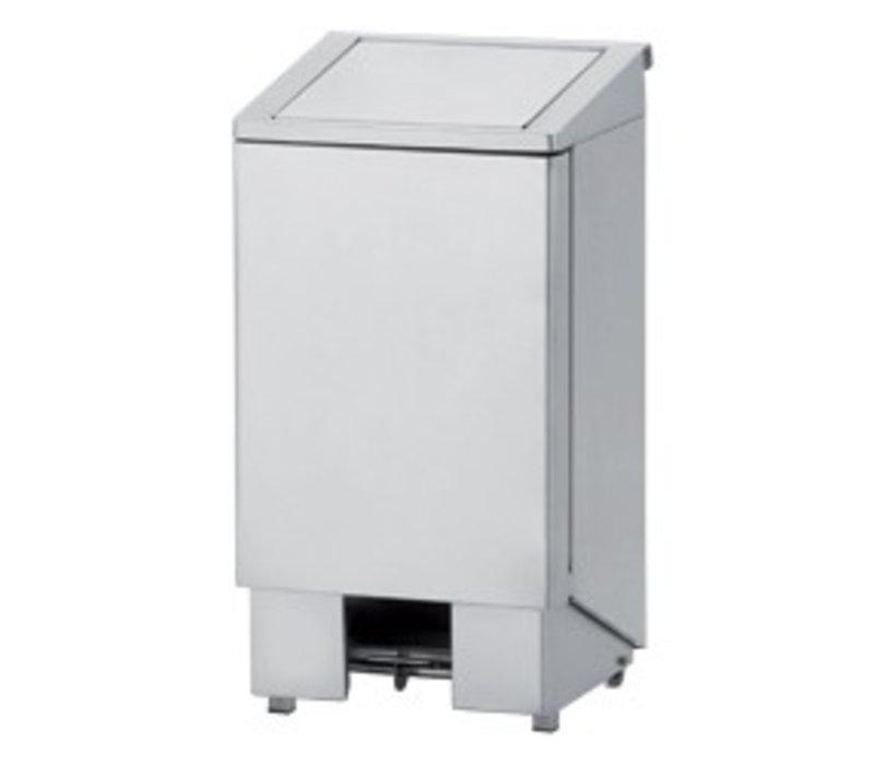 Diamond OUTLET Afvalbak RVS met pedaal - 60 Liter