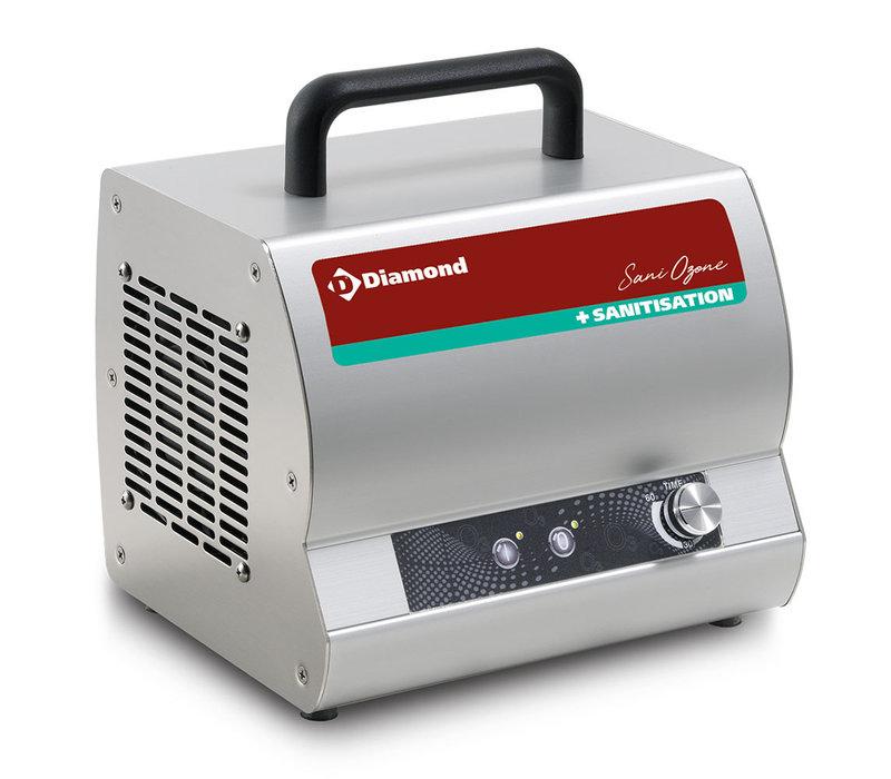 Diamond Ozongenerator 1 Ventilator | OZONE/28MT | 28g/h | 244 x 210 x H252mm