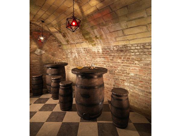 Veba Barkruk Barrel Hoog | Ø420x760(h)mm