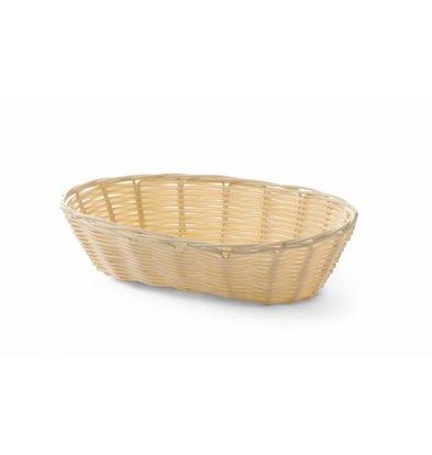 Hendi Bread Basket Oval - Poly Rattan - 225x130x (h) 55 mm
