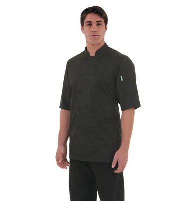 Chef Works Chef Works Chefs Tube Montreal - Short Sleeves - Available in 6 sizes - Black
