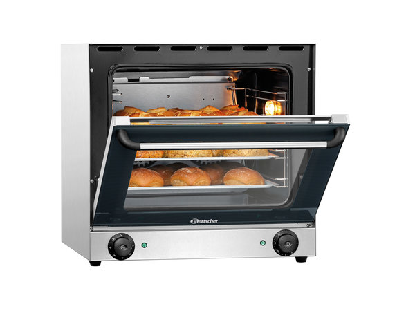Bartscher Convection oven AT90 - 595x615x570 (h) mm - inc. 4 tins - MOST SOLD!