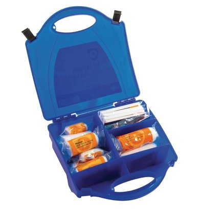 Vogue First Aid Box Catering - 10 Persons - Blue