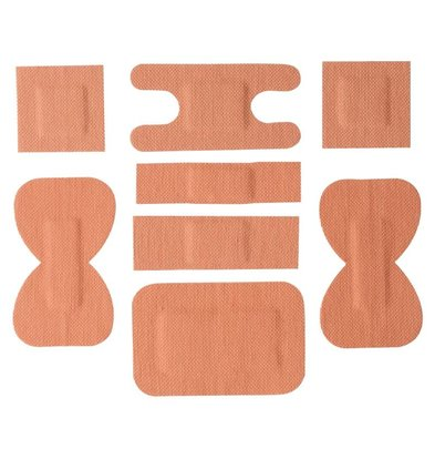 XXLselect Pleisterset - Fabrics patches - 100 Pieces