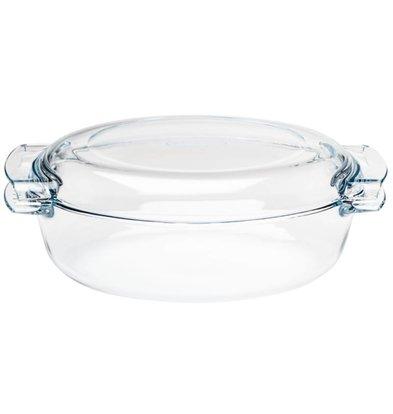 Pyrex Ovenschaal Ovale Casserole | 4,5 Liter | 390x110x(H)150mm
