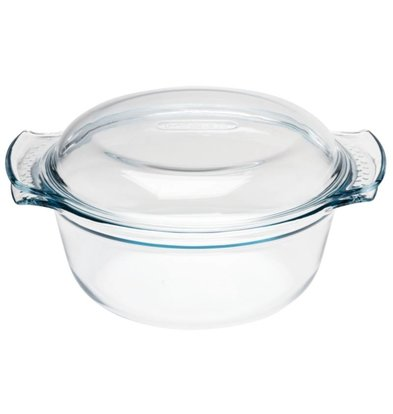 Pyrex Oven Shield Round Casseroles | 3.75 Liter | 315x270x (H) 11mm