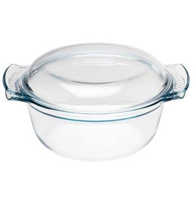 Pyrex Oven dish Round Casseroles | 1.5 Liter | 24,5x19,5x9,5cm