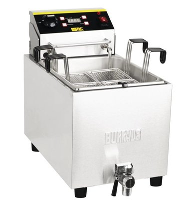 XXLselect Pasta Cooker with Timer and drain valve   SS   8 Liter   230   283x516x433 (h) mm