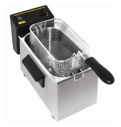 Caterlite Fryer Tabletop Basic   3.5 Liter   2 KW   232 (b) x429 (d) x240 (H)