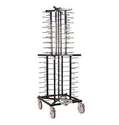 Jackstack Mobile plate rack Jackstack 72 boards - 60x60x179 (h) cm
