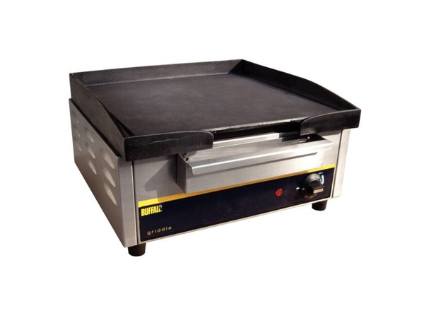 Buffalo Gietijzeren Bakplaat Elektrisch - 44x47x(h)23cm - 2800w