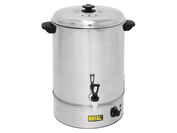 Buffalo Heetwaterdispenser / Gluhwein ketel van Roestvrij Staal   met Tapkraan   XXL 40 Liter