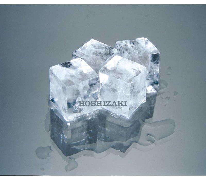 Hoshizaki OUTLET Ice cube machine 95kg/24h | Hoshizaki IM-100CNE | Stock 38kg | Ice cubes size L