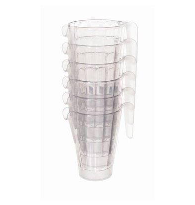 Matfer Schenkkan | 1 Liter | Stapelbaar | Polycarbonaat | Bier Pitcher | Ø125x(H)180mm
