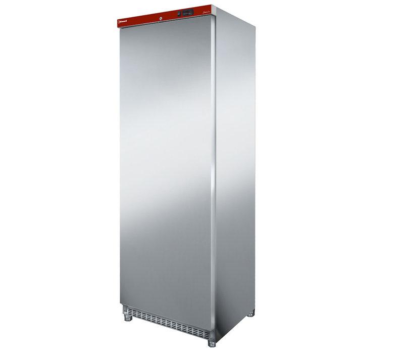 Diamond Koelkast - RVS - 400 Liter - 626x740xh1925mm