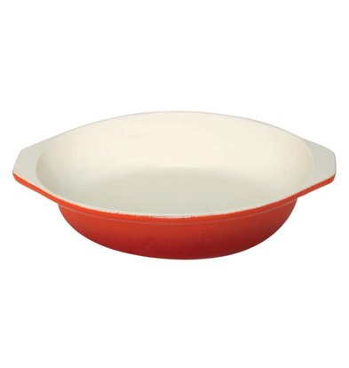 Vogue Round gratin dish Orange | 400ml | Ø15cm
