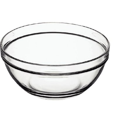 Arcoroc Glass Bowl - Tempered Glass - Price per 6 pieces - 0:07 Liter - Ø75mm