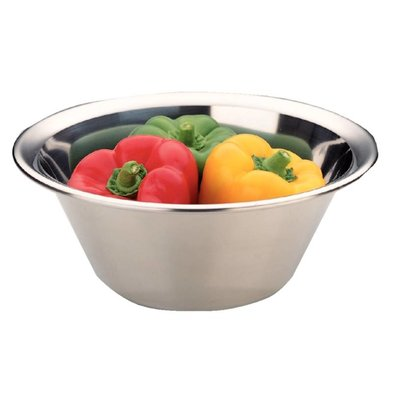 Vogue Stainless steel mixing bowl - 0.5 liters - Ø150mm
