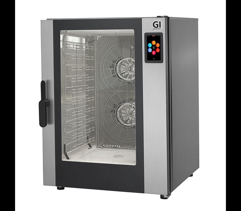 XXLselect Combisteamer 12x GN 1/1 / 12x 600x400mm | Touch Screen | 18,4 kW