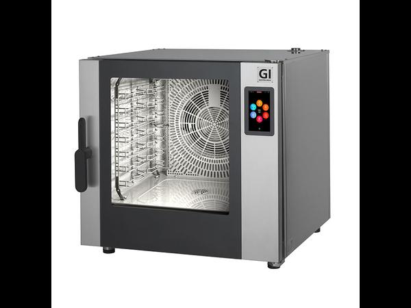 XXLselect Combisteamer 7x GN 1/1 / 7x 600x400mm | Touch Screen | 10,9 kW