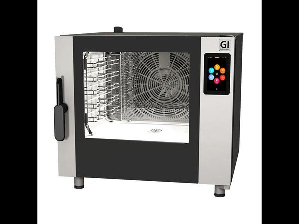 XXLselect Combisteamer 5x GN 1/1 / 5x 600x400mm | Touch Screen | 7,5 kW
