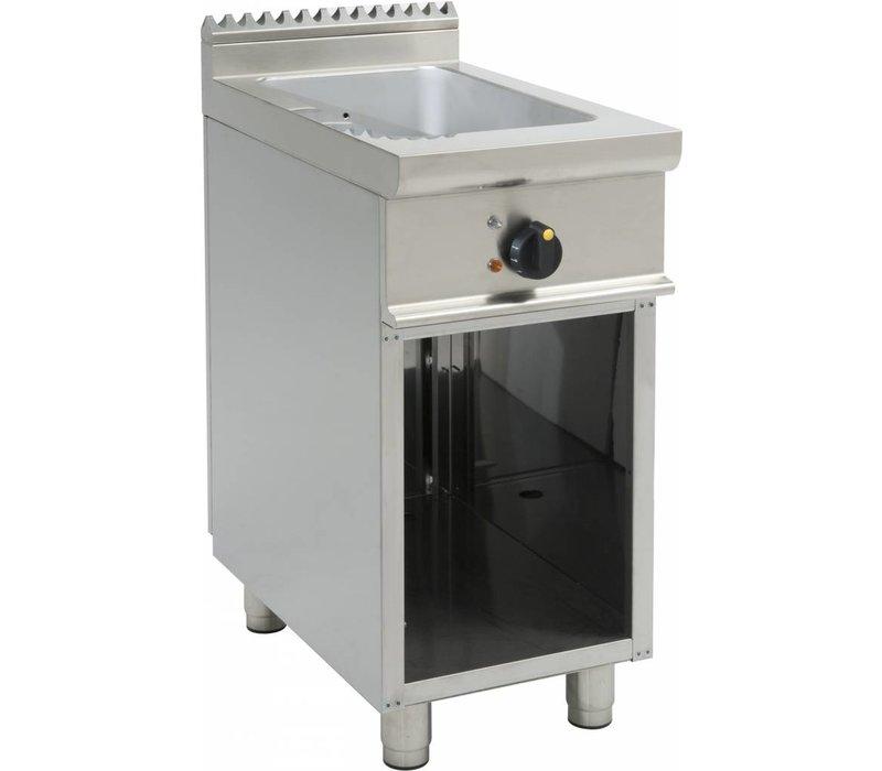 Saro OUTLET Bain Marie   1/1GN   Elektrisch   Met Open Onderstel Casta   400x700x(H)850mm