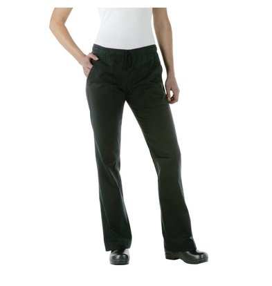 Chef Works Chef Works Ladies trousers - Available in 5 sizes - Black