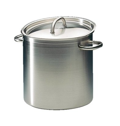 Bourgeat Casserole / Stockpot High Excellence Stainless Steel - 10.8 liters - 230mm High - CHOICE OF 5 SIZES