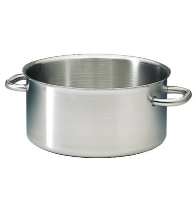 Bourgeat Casserole / Stockpot Low Excellence SS - 5.4 Liter 5 CHOICE OF SIZES