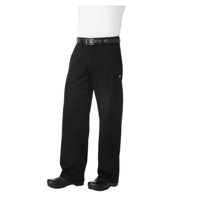 Chef Works Chef Works Chefs pants Black Herringbone - Available in 6 different sizes - Unisex - Black