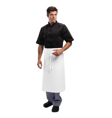 Whites Chefs Clothing Whites Horeca Sloof - Vaste band - 75 x 90 cm - Wit - Unisex