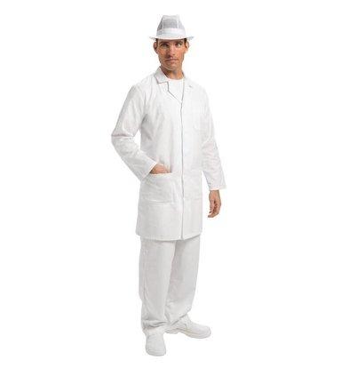 Whites Chefs Clothing Werkjas - Beschikbaar in vier maten - Wit - Unisex