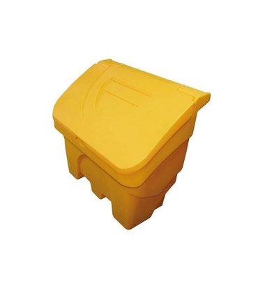 XXLselect Strooizoutbak / Salt Box with Spoon - 200 liters - Color Yellow