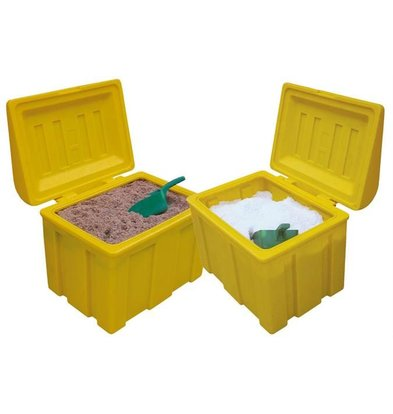 XXLselect Strooizoutbak / Salt Box - 110 liters with Free Shovel - Available in 3 colors