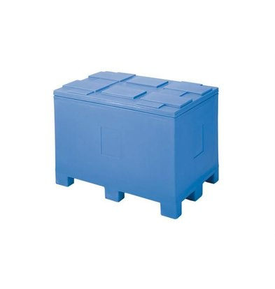 XXLselect Isothermal Container by Pallet Feet - 450 Liter - 60x40x54cm